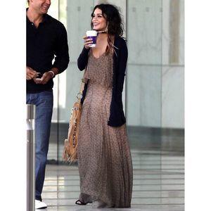 Gypsy 05 Sz. S Fiona Halter Maxi 100% Silk Dress